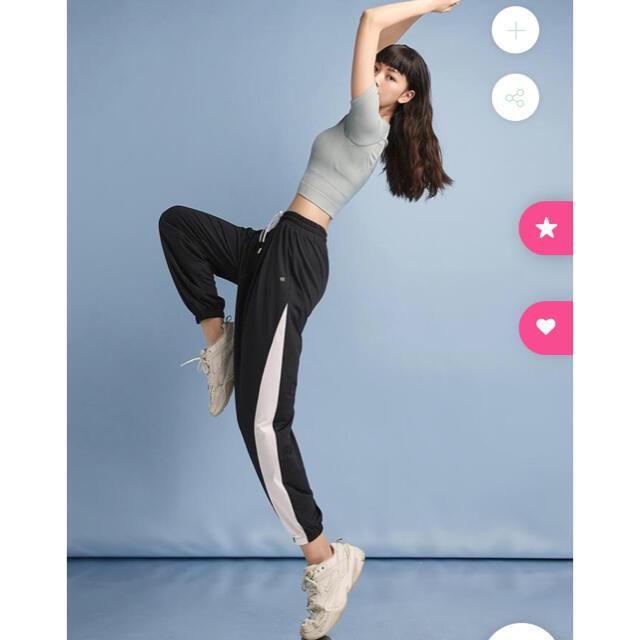 lululemon(ルルレモン)のSLOLI☆スロリ☆カジュアルパンツ(ブラック) スポーツ/アウトドアのトレーニング/エクササイズ(トレーニング用品)の商品写真