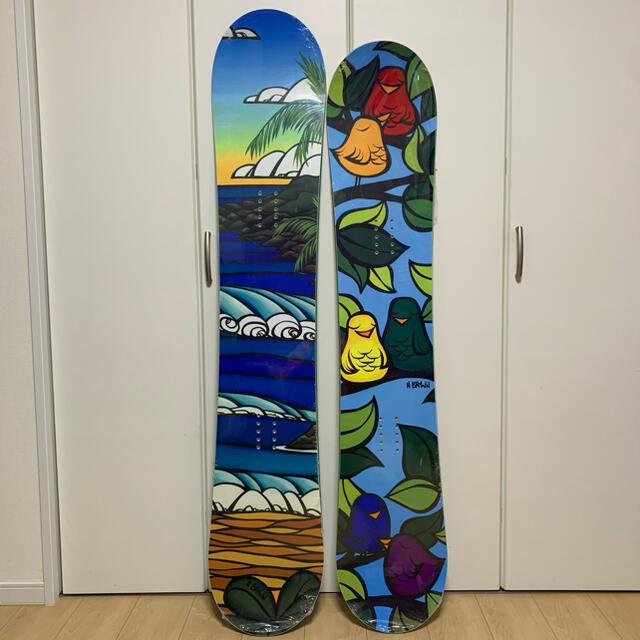 Elan(エラン)のelan スノーボード ヘザーブラウン スポーツ/アウトドアのスノーボード(ボード)の商品写真