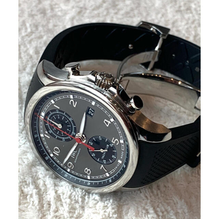 インターナショナルウォッチカンパニー(IWC)の美品!IWC ポルトギーゼ ヨットクラブ クロノグラフ IW390503(腕時計(アナログ))