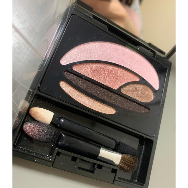 AUBE couture(オーブクチュール)のオーブクチュール デザイニングインプレッションアイズ 551 ピンク系 コスメ/美容のベースメイク/化粧品(アイシャドウ)の商品写真
