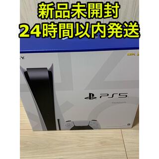 プレイステーション(PlayStation)の【新品未開封・送料込み】PS5本体 通常版(家庭用ゲーム機本体)
