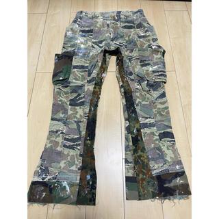 ヴィヴィアンウエストウッド(Vivienne Westwood)のvivienne westwood patchwork camo pants(ワークパンツ/カーゴパンツ)
