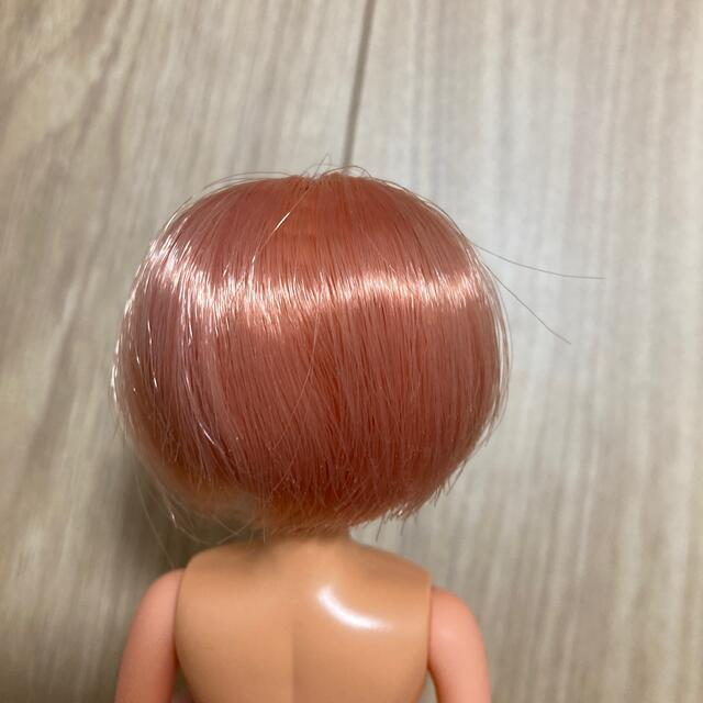 Takara Tomy(タカラトミー)の桃ガールリカちゃん日焼けタカラJAPANキャッスル製?ショートヘアサーモンピンク エンタメ/ホビーのおもちゃ/ぬいぐるみ(キャラクターグッズ)の商品写真