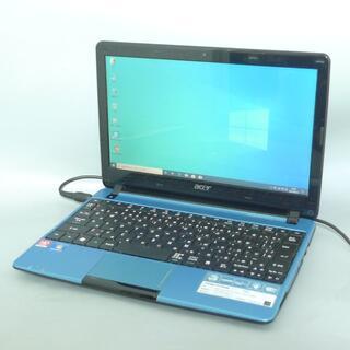 エイサー(Acer)のAcer 722-N52C/B AMD 4GB SSD128GB(ノートPC)