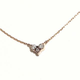 ete - エテ ete 18金 K18 イエローゴールド ダイヤモンド ネックレス
