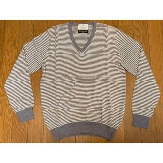 エディフィス(EDIFICE)の定価15180円 エディフィス セーター(イタリア製生地使用) 新品同様(ニット/セーター)