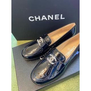 シャネル(CHANEL)のクーポンお値下げ🌸CHANEL  エナメル ローファー37🌸(ローファー/革靴)