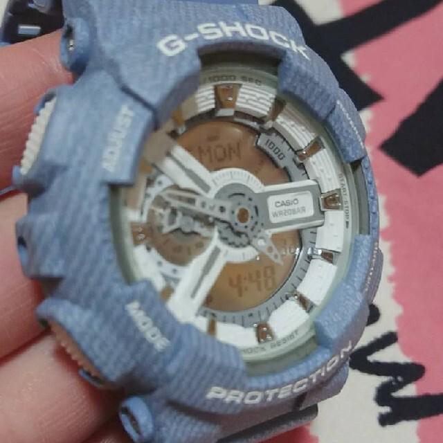 G-SHOCK(ジーショック)のG-SHOCK WR20BAR 腕時計 CASIO ブルー メンズの時計(腕時計(アナログ))の商品写真