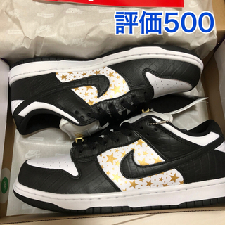 Supreme - Supreme Nike SB Dunk Low Black 27.5