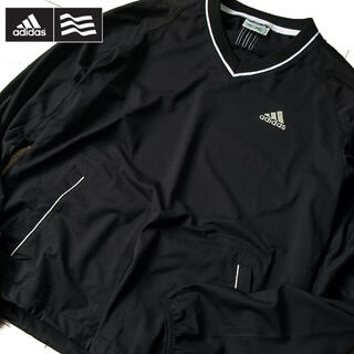 adidas - 超美品 M アディダス ゴルフ メンズ プルオーバー ブラック