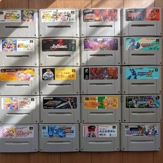 スーパーファミコン - スーパーファミコンソフトまとめ20本