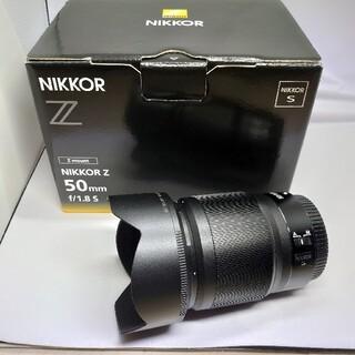 Nikon - 極上品 NIKKOR Z 50mm f/1.8 S
