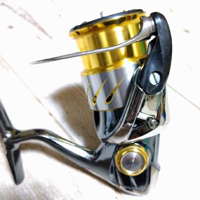 SHIMANO(シマノ)のシマノ 14ステラ 2500HGS 夢屋ステラコルクノブ スポーツ/アウトドアのフィッシング(リール)の商品写真