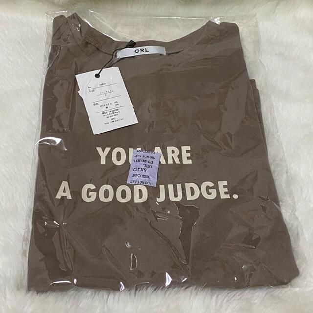 GRL(グレイル)の【GRL】プリントロゴTシャツ レディースのトップス(Tシャツ(半袖/袖なし))の商品写真