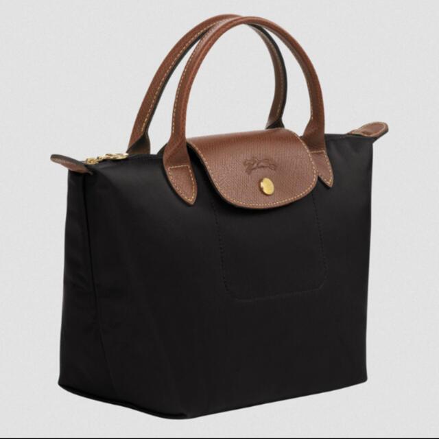 LONGCHAMP(ロンシャン)のロンシャン LONGCHAMP プリアージュ ブラックS レディースのバッグ(トートバッグ)の商品写真