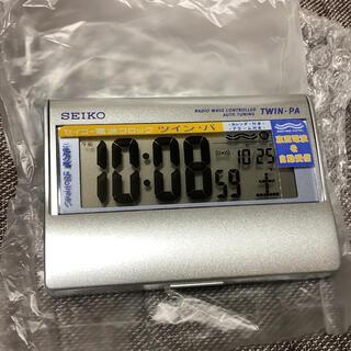 セイコー(SEIKO)のSEIKO ツイン・パ(置時計)