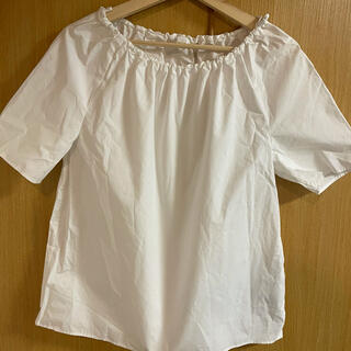 コス(COS)のCOS 半袖ブラウス/シャツ ホワイト(シャツ/ブラウス(半袖/袖なし))