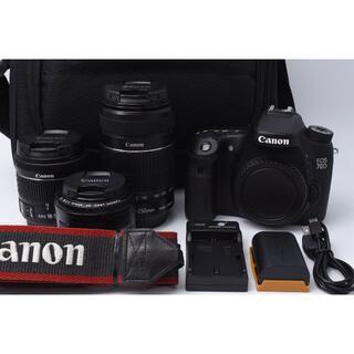 Canon - ★美品★ Canon EOS 70D トリプルレンズセット