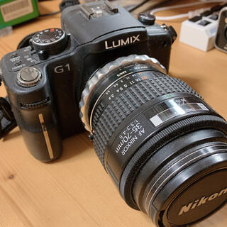 Panasonic - Panasonic LUMIX DMC G1 ミラーレス 一眼レフ カメラ