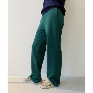 L'Appartement DEUXIEME CLASSE - アパルトモン☆【アメリカーナ】Pile Relax PANTS 新品グリーン38
