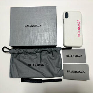 バレンシアガ(Balenciaga)のBALENCIAGA iPhone X/XS ケース スマホケース(iPhoneケース)