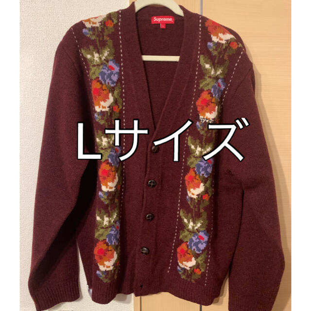 Supreme(シュプリーム)のsupreme Floral Stripe Cardigan メンズのトップス(カーディガン)の商品写真
