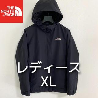 THE NORTH FACE - 美品 THE NORTH FACE マウンテンパーカー レディースXL ブラック