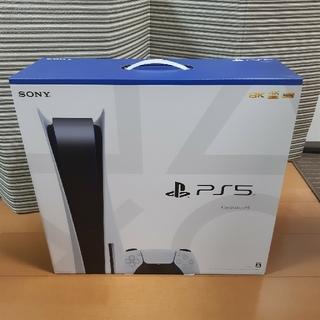 プレイステーション(PlayStation)のプレステ5 本体 PlayStation 5 新品未使用(家庭用ゲーム機本体)