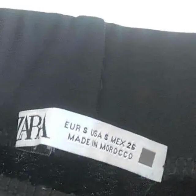 ZARA(ザラ)のZARAワイドパンツ フルイドパンツ ザラ バギーパンツ 低身長の方にオススメ レディースのパンツ(カジュアルパンツ)の商品写真