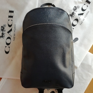 COACH - 正規店購入 コーチ ペブルドレザー バックパック リュック 新品
