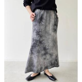 L'Appartement DEUXIEME CLASSE - アパルトモン【R JUBILEE】Spot Dyeing Skirt ブラック