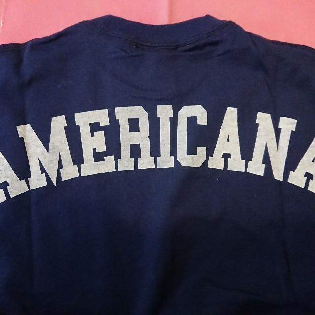 AMERICANA(アメリカーナ)のミキティー様用新品タグ付AMERICANAaquagirl別注バックロゴTシャツ レディースのトップス(Tシャツ(半袖/袖なし))の商品写真