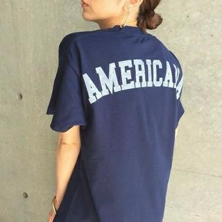 AMERICANA - 新品タグ付 AMERICANA  aquagirl【別注】バックロゴTシャツ