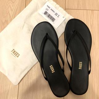 新品未使用☆TKEES☆Liners Sable black 24cm サンダル