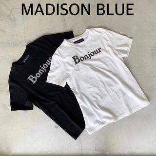 MADISONBLUE - 【MADISON BLUE 】Bonjour SHORT SLEEVE TEE
