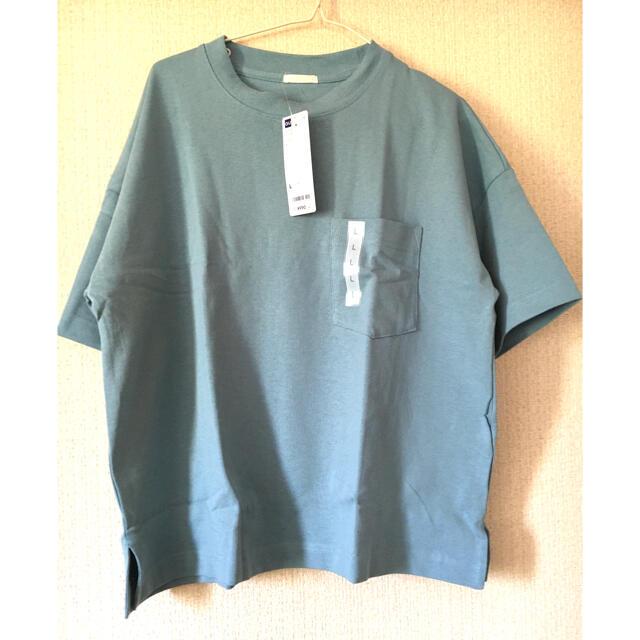 GU(ジーユー)のヘビーウェイト Tシャツ レディースのトップス(Tシャツ(半袖/袖なし))の商品写真