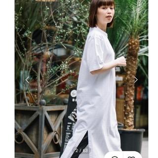 DEUXIEME CLASSE - 【Munich定番】ヘビーウェイトジャージTシャツワンピース ホワイト