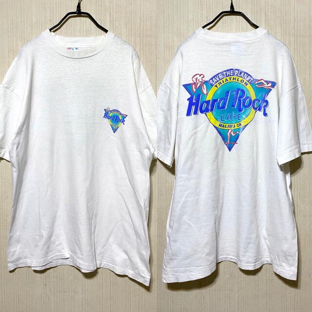 Supreme(シュプリーム)の80's Hard Rock CAFE  Tシャツ マリブ海 ヴィンテージ メンズのトップス(Tシャツ/カットソー(半袖/袖なし))の商品写真
