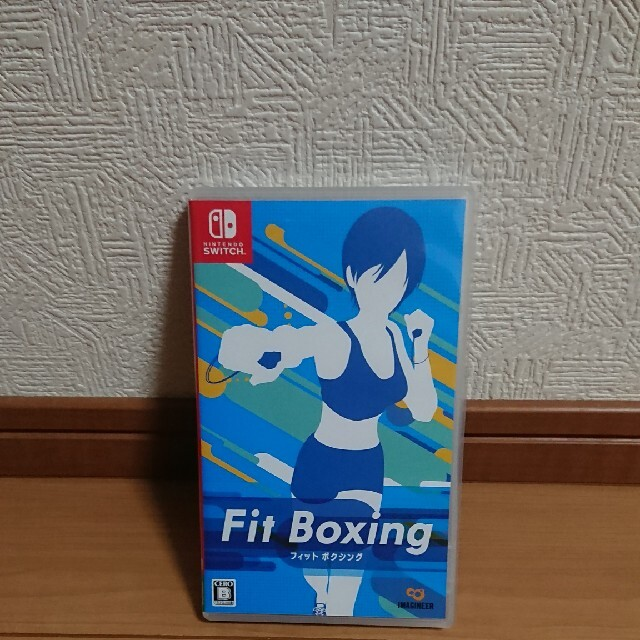 Nintendo Switch(ニンテンドースイッチ)のスイッチ Fit Boxing フィットボクシング 任天堂 Switch エンタメ/ホビーのゲームソフト/ゲーム機本体(家庭用ゲームソフト)の商品写真