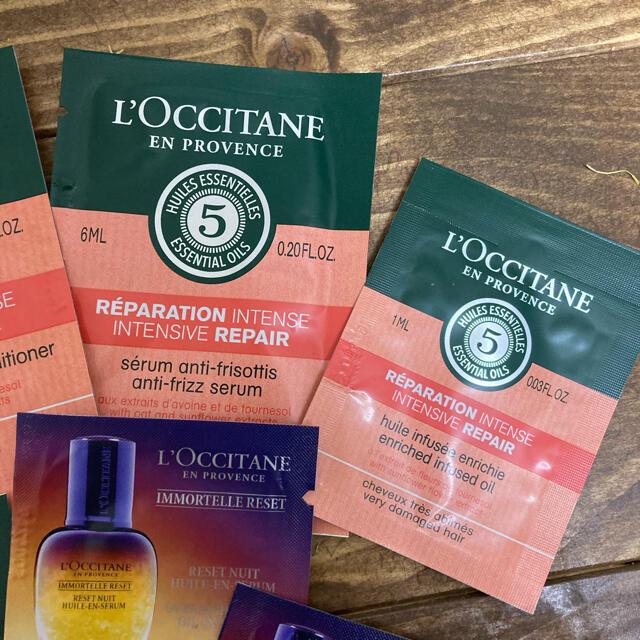L'OCCITANE(ロクシタン)のロクシタン シャンプー他 試供品セット コスメ/美容のキット/セット(サンプル/トライアルキット)の商品写真