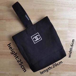 CHANEL - シャネル 手持ちバッグ キャンバス素材 非売品