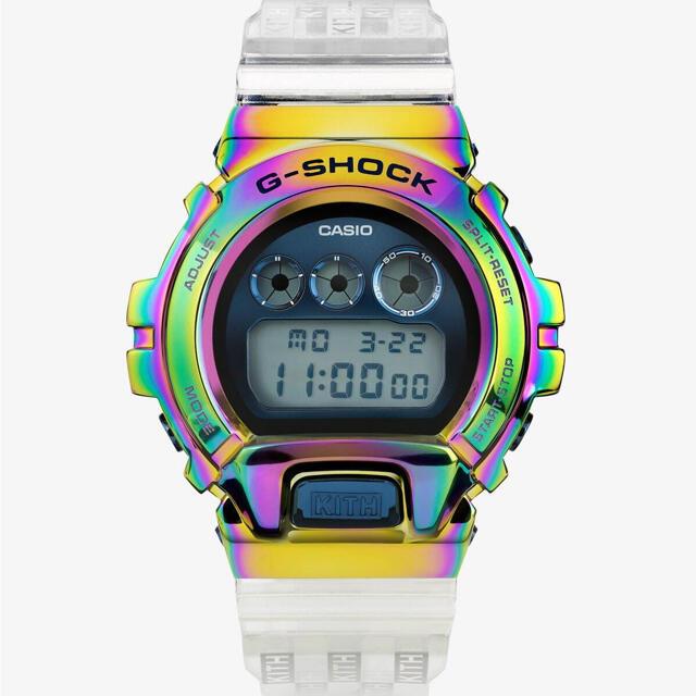G-SHOCK(ジーショック)のkith G shock GM-6900 rainbow 新品未使用 メンズの時計(腕時計(デジタル))の商品写真
