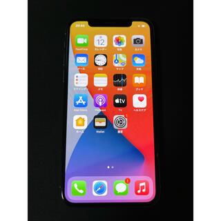 アイフォーン(iPhone)のiPhone X Silver 256GB SIMフリー 背面割れジャンク(スマートフォン本体)