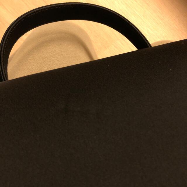 ブラックフォーマル ハンドバッグ レディースのバッグ(ハンドバッグ)の商品写真