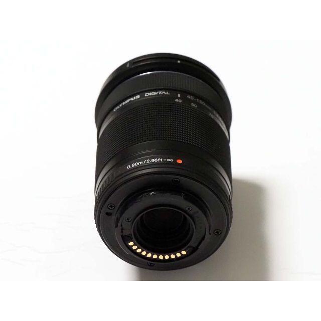 OLYMPUS(オリンパス)のM.ZUIKO DIGITAL 40-150mm F4-5.6 R ED MSC スマホ/家電/カメラのカメラ(レンズ(ズーム))の商品写真