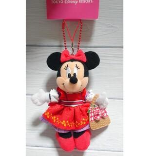 Disney - ディズニー ミニーマウス ベリーちゃん ストラップキーチェーン