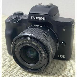 Canon - Canon キャノンEOS kiss M ズームレンズキット