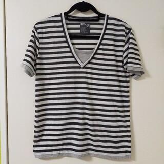 ピーピーエフエム(PPFM)のPPFM ボーダー 半袖 トップス Tシャツ(Tシャツ/カットソー(半袖/袖なし))