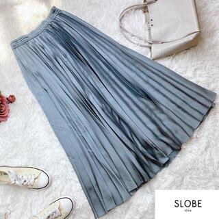 IENA SLOBE - 美品!スローブイエナ  定番 ロングプリーツスカート