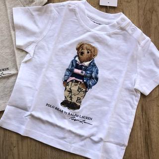 ラルフローレン(Ralph Lauren)のラルフローレン ベビー ポロベア  Tシャツ 80 子供服(Tシャツ)